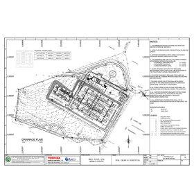 Drainage plan PDF to CAD