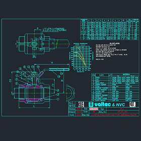 Valve PDF to CAD
