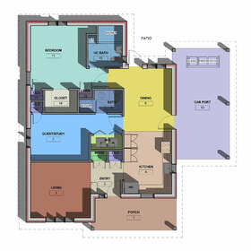 Floor plans PDF to DWG