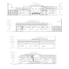 House facade design