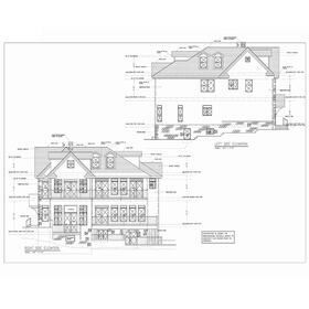 House elevation drawings