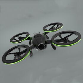 Quadcopter drone concept design