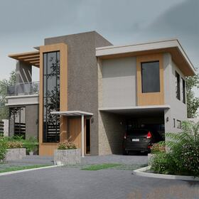 Exterior architectural modeling