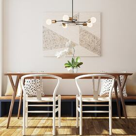 3D dining room visualization