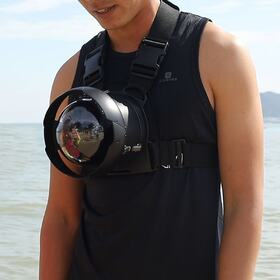 Wearable camera stabilizer
