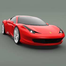 Sports car CATIA modeling