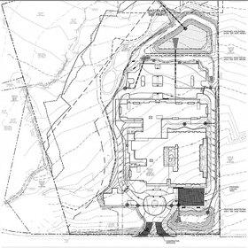 Civil engineering design for a senior center