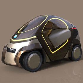 Electric quadricycle