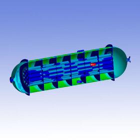 FEA heat exchanger
