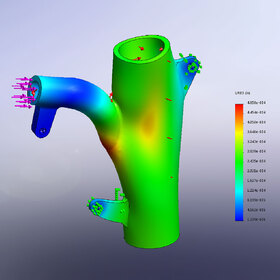 Pipe FEA analysis