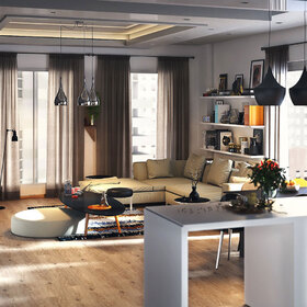 Kish apartment furniture