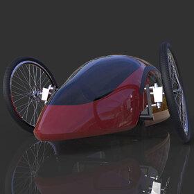 Shell Eco-marathon prototype vehicle
