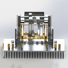 Robot palletizing system reverse engineering