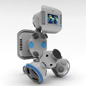 Multimedia modular robot design