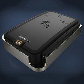 Student campus access card reader