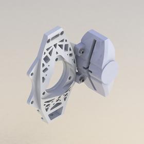 3D-printed part