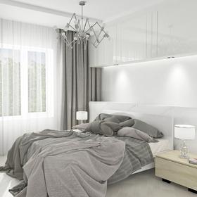 Bedroom lighting fixture design