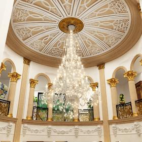 Classical home hallway chandelier