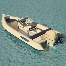 Ingido Spearmaster inflatable boat design