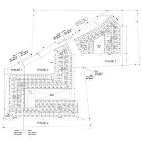 Condo in Toronto architectural site plan