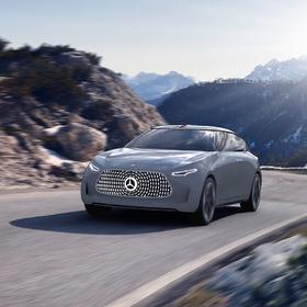 Self-driving Mercedes Benz design