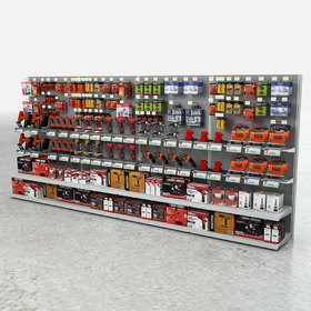 Hardware store product display