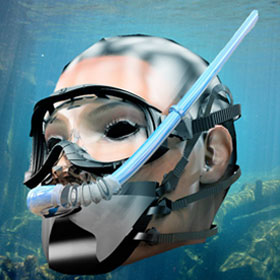 Adaptive snorkel & mouthpiece