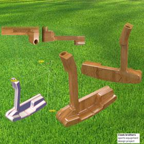 Sports putter concept design